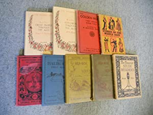Collection of nine educational books: 1. Our: Mackinder, H J.