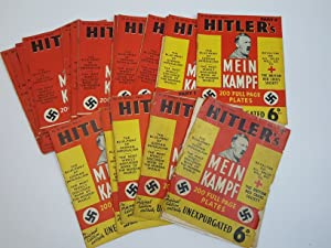 Mein Kampf, complete in 18 weekly parts: Hitler, Adolf (Translated