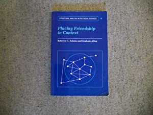 Placing Friendship in Context