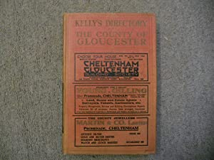Kelly's Directory of the County of Gloucester