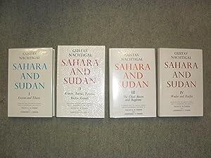 Sahara and Sudan (Tripoli and Fezzan, Tibesti: Nachtigal, Gustav
