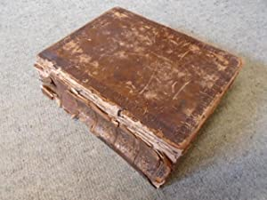 The Holy Bible Containing the Old and: Illustrated by J.