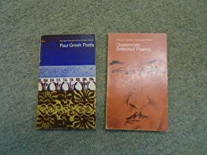 Four Greek Poets; Selected Poems of Eugene: C. P. Cavafy,