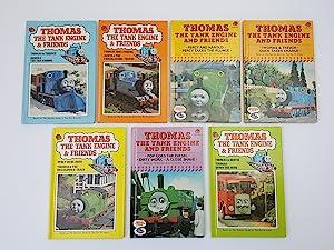 Seven Ladybird editions of Thomas The Tank: Awdry, Rev. W.