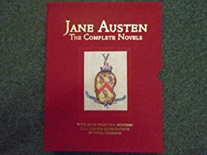Jane Austen, Complete Novels [Contains Sense and: Austen, Jane Illustrated