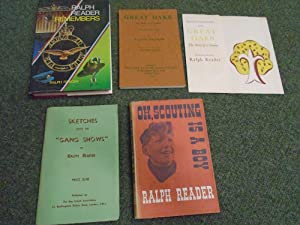 A collection of four volumes by Ralph: Reader, Ralph
