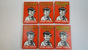 William-The Good, William-The Gangster, William-Carries on, William-The: Crompton, Richmal illustrated