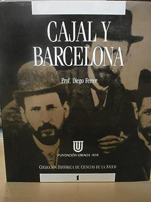 CAJAL Y BARCELONA.: FERRER, DIEGO.