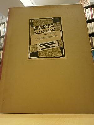 DOCUMENTS DÉCORATIFS BEAUX-ARTS INDUSTRIES D'ART. 1 À: PICARD, A.