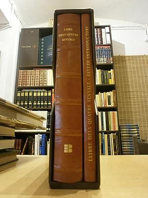 LIBRE DELS QUATRE SENYALS. Edició facsímil. 2 vols.: MONTAGUT ESTRAGUÉS, TOMÀS DE.