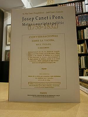 JOSEP CANET I PONS. Metge i escriptor: PILAR TORRA I