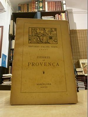 HISTORIA DE PIERRES DE PROVENÇA y de