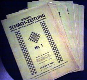 Wiener Schach-Zeitung. Organ für das gesamte Schachleben.: Autorenkollektiv (redigiert v.