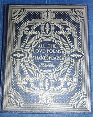 All the Love Poems of Shakespeare: Shakespeare