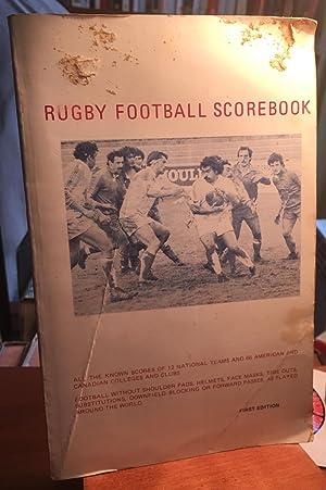 Rugby Football Scorebook: Kenneth N. Carlson