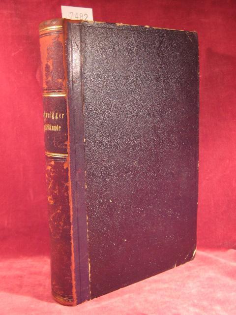 Handbuch der Augenheilkunde.: Schweigger, Dr. C.:
