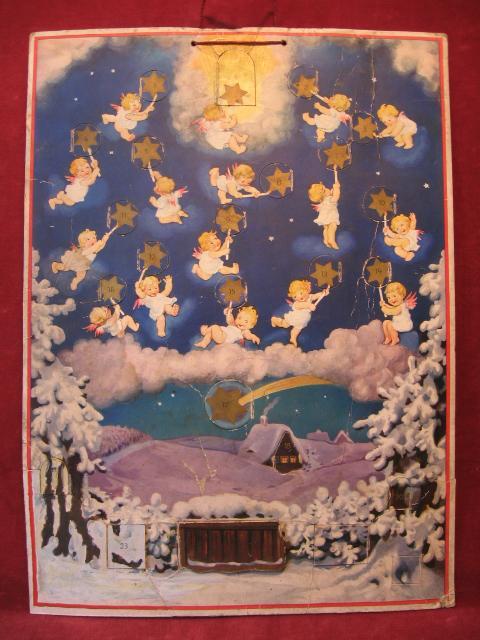 "Adventskalender ""Sternenreigen""."