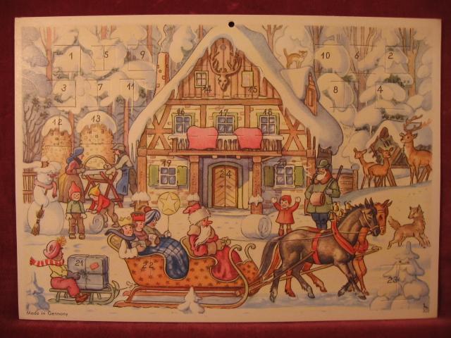 Adventskalender Försterei.: Hanitzsch, Rudolf: