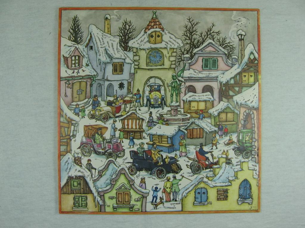 """Adventskalender """" Weihnachtsmarkt """".: Keussen, Gudrun:"""