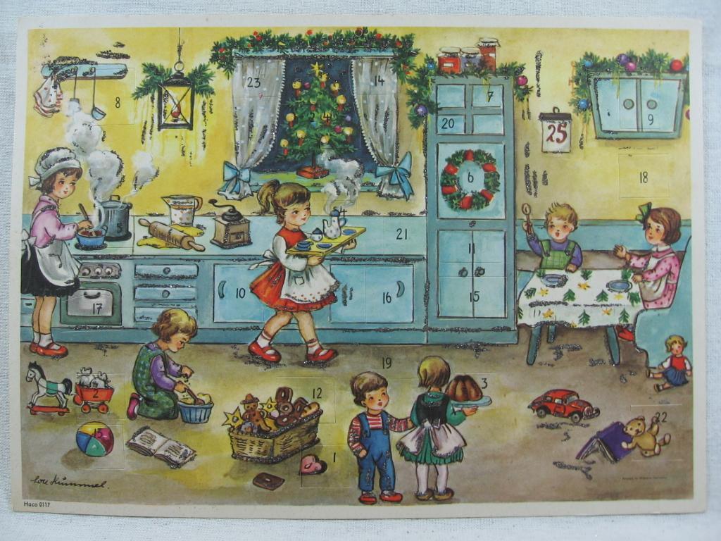 Adventskalender Weihnachtsbäckerei.: Hummel, Lore: