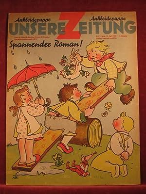 Unsere Zeitung. 2. Jahrgang. Heft 8, April 1948.