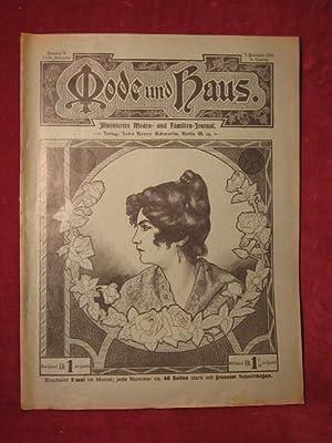 Mode und Haus. Illustriertes Moden- und Familien- Journal. 23. Jahrgang, Nr. 3.