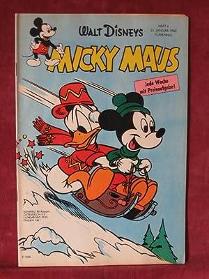 Micky Maus. Jahrgang 1960, Heft Nr. 4.: Disney, Walt: