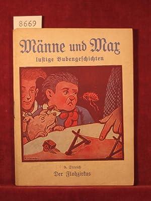 Männe und Max lustige Bubengeschichten. 9. Streich (Innentitel 9. Band): Der Flohzirkus.: ...