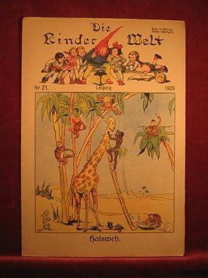 Die Kinderwelt. Jahrgang 1929, Heft Nr. 21.