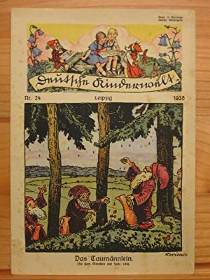 Deutsche Kinderwelt. Jahrgang 1936, Heft Nr. 24.