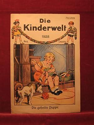 Die Kinderwelt. Jahrgang 1928, Heft Nr. 5.