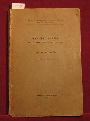 Finnish Birds. Fauna Fennica V.: Merikallio, Einari:
