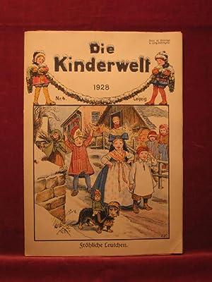 Die Kinderwelt. Jahrgang 1928, Heft Nr. 4.