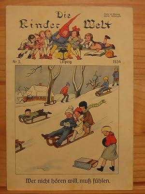 Die Kinderwelt. Jahrgang 1934, Heft Nr. 3.