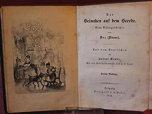 Das Heimchen auf dem Herde. Eine Elfengeschichte.: Boz ( Dickens ):