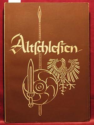 Altschlesien. Mitteilungen des Schlesischen Altertumsvereins. Band 9.: Seger, Hans (Herausgeber):