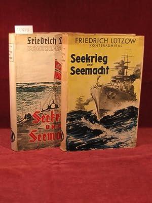 Seekrieg und Seemacht. 1. und 2. Band.: Lützow, Friedrich: