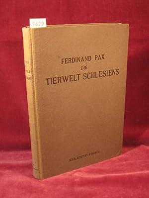 Die Tierwelt Schlesiens.: Pax, Dr. Ferdinand:
