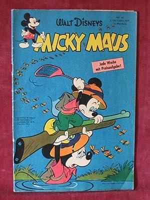 Micky Maus. Jahrgang 1959, Heft Nr. 40.: Disney, Walt: