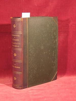 Gesamtbeschreibung der Kakteen (Monographia Cactacearum).: Schumann, Prof. Dr. Karl: