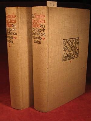 Die Simplicianischen Schriften des H.J.Chr. von Grimmelshausen. Monumentalausgabe in 2 Bänden....