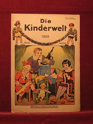 Die Kinderwelt. Jahrgang 1928, Heft Nr. 24 (Weihnachtsheft).