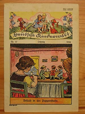 Deutsche Kinderwelt. Jahrgang 1936, Heft Nr. 17.