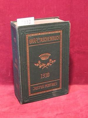 Gräfliches Taschenbuch 1910. 83. Jahrgang. (Innentitel): Gothaisches Genealogisches ...