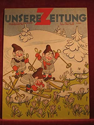 Unsere Zeitung. 2. Jahrgang. Heft 5, März 1948.