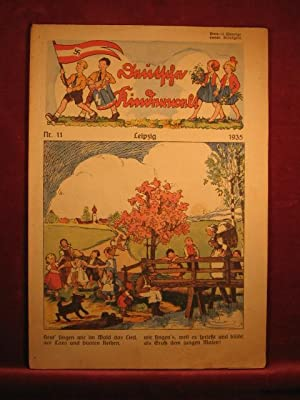Deutsche Kinderwelt. Jahrgang 1935, Heft Nr. 11.