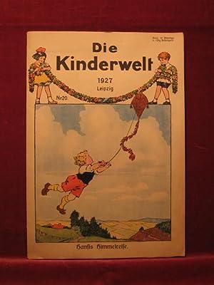 Die Kinderwelt. Jahrgang 1927, Heft Nr. 20.