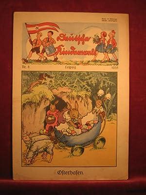 Deutsche Kinderwelt. Jahrgang 1935, Heft Nr. 8.