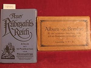 Album von Breslau. 10 der schönsten Ansichten, auch als Postkarten verwendbar.