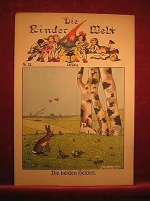 Die Kinderwelt. Jahrgang 1929, Heft Nr. 12.
